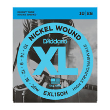 D'Addario EXL150H Nickel Wound, Hi-Strung Strings, Nashville Tuning, 10-26
