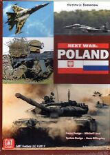 GMT Next War: Poland The Time is : Tomorrow Board game New in shrink wrap