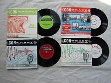 """CONTRAST SOUND PRODUCTIONS JOB LOT 7"""" VINYLS mf x2 tfx 1 lfx 1 afx 1 London"""