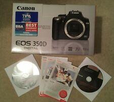 Canon EOS 350 D Box & Original DVD's