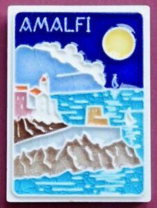 Souvenir Fridge Magnet Amalfi Coast Campania Italy