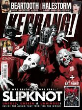 Kerrang 1732 28th July 2018 Slipknot on the cover
