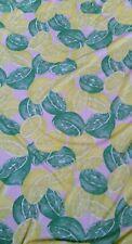 "Trendy Tutti Frutti Lemon Lime Fruit Food Jersey Lycra Stretch Fabric 60"" Width"