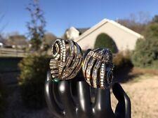 New Heidi Daus Swirl Bracelet Bangle cuff