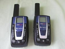Set Of 2 Cobra Micro Hablar Walkie Talkies Radio Modelo CXR750 (No Cargador)