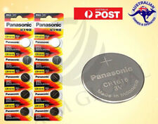 10 CR1616 PANASONIC GENUINE Button Coin Cell 3v Lithium battery Cheapest on Ebay