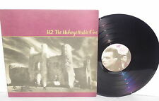 U2 The Unforgettable Fire LP Vinyl MLK Pride 4th of July Wire Bad PLAYS WELL