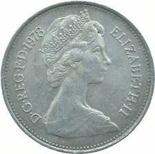 1978 LARGE 5P COIN ELIZABETH II.  #WT17513