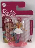 """New! Mattel 3"""" Barbie Fairy Candy Princess Figure Micro Collection Cake Topper"""