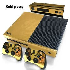 GOLD SKIN DECAL STICKER 4 XBOX ONE Game Console Controllers XBONE