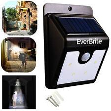 4 LED Lampe Mural Capteur Solaire Lumière Détecteur Pr Maison Jardin Extérieur