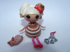 Lalaloopsy Mini Doll BUN BUN STICKY ICING - Cinnamon Bun - Retired VHTF