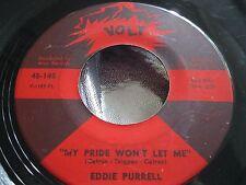 Soul 45 : Eddie Purrell ~ My Pride Won't Let Me ~ The Spoiler ~  Volt 45-145