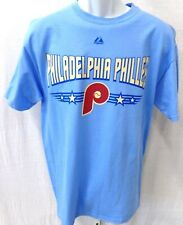 Philadelphia Phillies Baseball Short Sleeve T-Shirt Blue