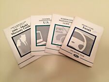 1999 Ford Escort owner's manual w/extras