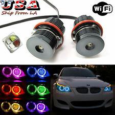 CREE 160W RGB Phone Control WIFI Angel Eyes Halo LED For BMW E39 E60 525i 535i