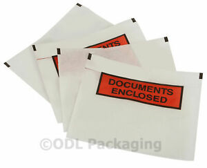 Document Enclosed Wallets Plain & Printed A6 BOX OF 1000