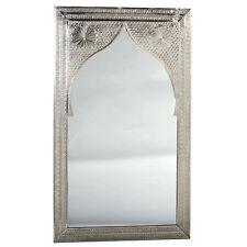orientalischer Silber Spiegel Orientspiegel Marokko Orient Sath 60x100cm