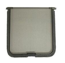 Hartman PET DOOR FLAP REPLACEMENT 150x150mm Silent Magnetic Cat Flap *Aust Brand