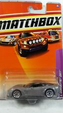2009 Matchbox sports cars Corvette ZR1 6 of 100 silver 1/64 scale new