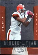 2011 Contender Rookie of the Year Contender - GREG LITTLE #7 - Browns