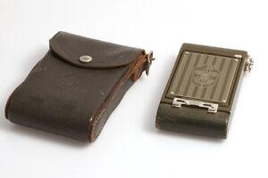 Kodak Boy Scout Camera Grün/Green mit Etui