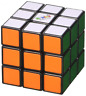 Rubik's Cube Original 3x3x3 Rubix Smooth Fast turn Rubic Speed kube colour 5.6cm