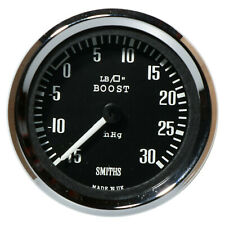 Smiths -15 to +30 Psi Stepper Motor Boost Gauge 52mm With 1/8 NPT Sender