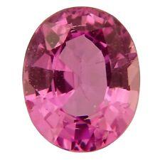 IGI certified untreated pink sapphire 0.81ct natural loose gemstones