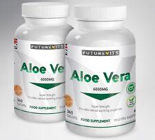 Aloe Vera Comprimés 2 x 360 Bouteilles Articulations, Cheveux, Peau, Digestion
