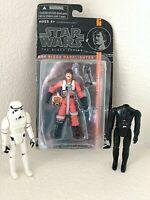 Star Wars Figures Lot 1977 Stormtrooper Headless Darth Vader 2013 Darklighter