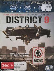 District 9 (Blu-Ray + DVD, 2011) *New & Sealed