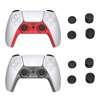 Replacement Housing Case Shell with Rocker Cap Cover for PS5 Wireless Controller