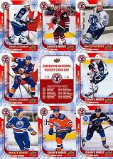 2016 Canadian Hockey Card Day Uncut Sheet McDavid, Domi, Petan, Tavares