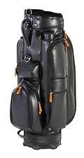 JuCad Bag Sydney - schwarz/braun - Außergewöhnliches Lederdesign - Neuheit!