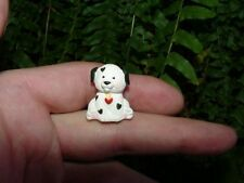 1992 Puppy w Hearts - Hallmark Valentine's Day Merry Miniature - Dalmatian dog