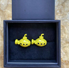 by Cufflinksinc The Beatles 3D Yellow Submarine Cufflinks
