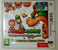 _( Mario & Luigi Viaggio al Centro di Bowser + Bowser Junior Nuovo x 3DS XL )_