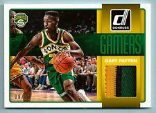 GARY PAYTON 2014/15 PANINI DONRUSS GAMERS 3 COLOR GAME USADO CON PARCHE / 20