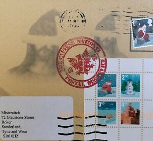 James CAUTY 1st Day Cover Envelope 25-12-06 CNX06 Addressed to Misteraitch rare!