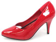Pleaser Dreeam 420/R Pumps Gr. 42 Damenschuhe Absatzschuhe Erotik Rot