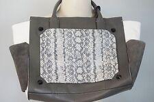Vince Camuto | 'Peri' Tote - women's $298 gray / serpent leather handbag -wear