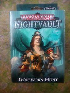 Warhammer Underworlds Nightvault Godsworn Hunt OOP BNIB SEALED