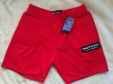 NEW PROSTAR INTERCEPTOR GOALKEEPER SHORTS - RED - EXTRA LARGE 40""