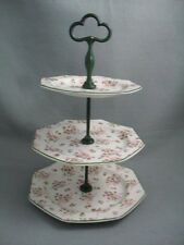 Meakin Bridal Bouquet 3 tier cake stand