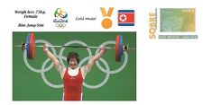 Spain 2016 - Olympic Games Rio 2016 - Gold medal Weigh female Korea cover