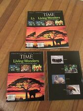Lot of 4 - 2008 Time Portrait of the Planet Living Wonders Time Special Edition