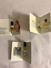 womens perfume 3  samples spray 1.5 Ml Marc Jacob Emporio Armani Paco Rabanne