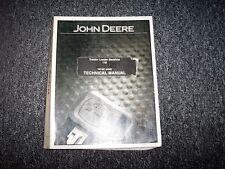 John Deere 110 Tractor Loader Backhoe Technical Service Repair Manual TM1987