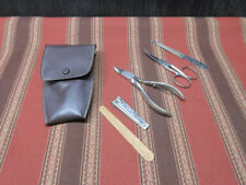 Vintage 6 piece LaCross nail care kit